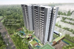 side view and facade of thomson impressions condo at lorong puntong