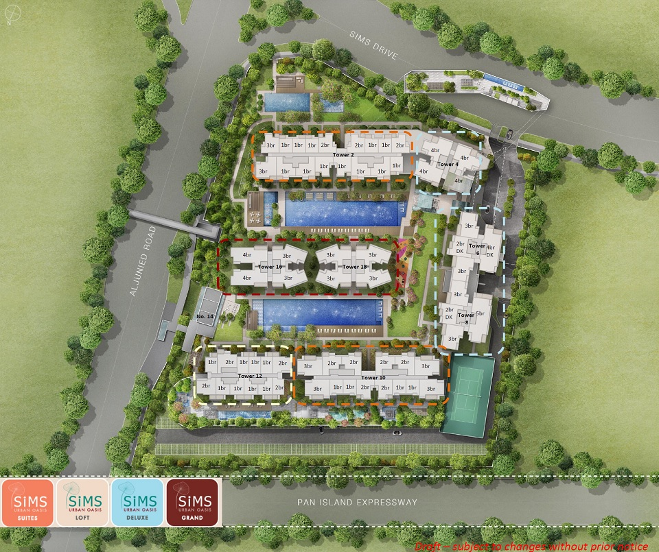 Sims Urban Oasis Floor Plan Price And Review Guocoland