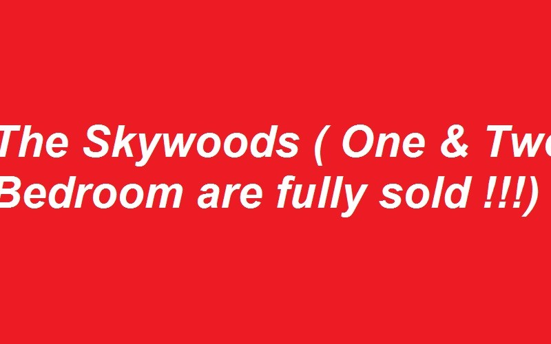 The Skywoods fully sold