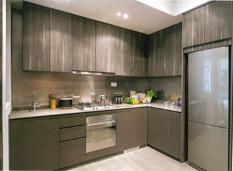 kitchen of two bedroom of principal garden show flat