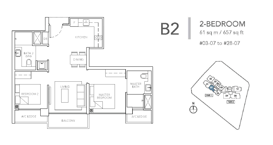 sturdee residences b2 floor plan