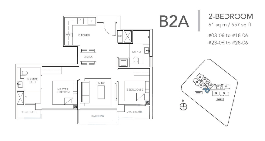 sturdee residences b2a floor plan