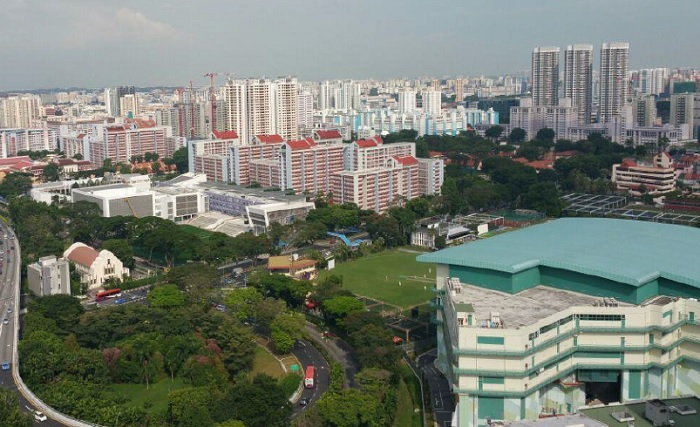 cityscape at farrer park east view