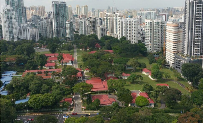 cityscape at farrer park north view