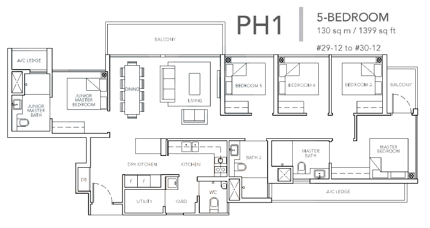 sturdee residences ph1 floor plan