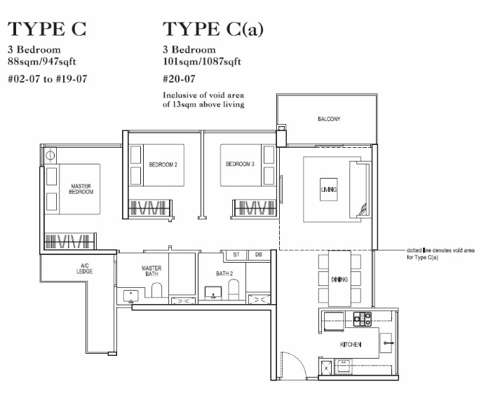 rivertrees residences 3 bedroom vantage