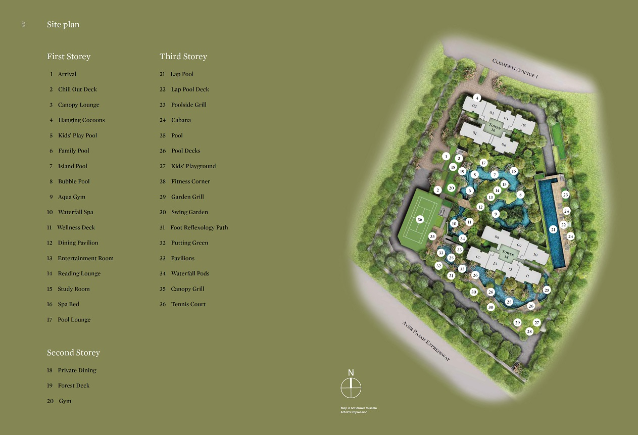 Clement Canopy floor plan