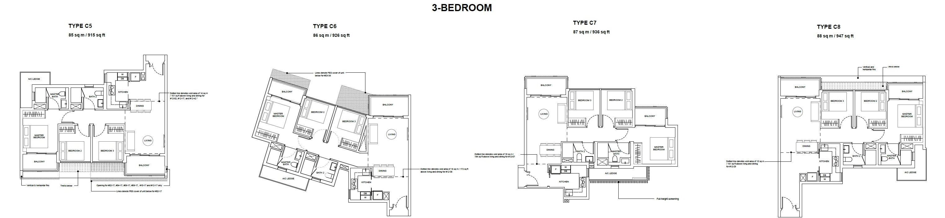 forest-woods-floor-plan-for-three-bedroom-type-c5-to-c8