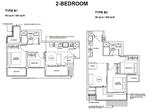 orest-woods-floor-plan-for-two-bedroom-type-B1-B2