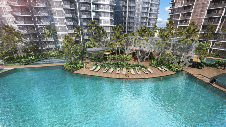 grandeur park residences pool