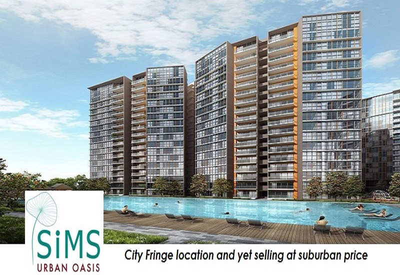 new launch condo at sims drive